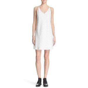 ATM Anthony Thomas Melillo Linen Striped Dress